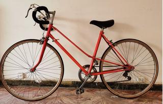Bicicleta Carrera Vintage Fixie Mujer Original Rod26