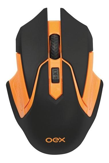 Mouse Gamer Óptico Sem Fio Hyper Ms307 2400 Dpi Wireless Oex