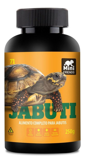Mini Friends - Alimento Premium Jabuti - 250 G