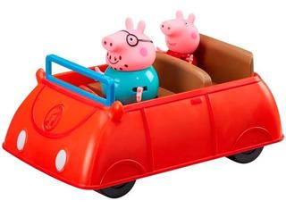 Peppa Pig Auto Familiar C/sonido 2 Fig Int 06707 La Cerdita