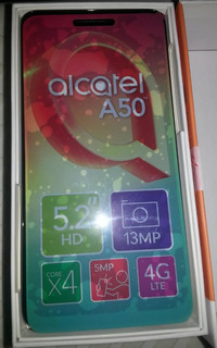 Alcate A50,13 Mp, Core 4, 5.2 Hd, 4g, Android 7.0 Nougat