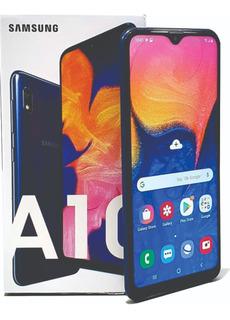 Samsung Galaxy A10 2gb-32gb +microsd32gb+ Forro+vidrio 130