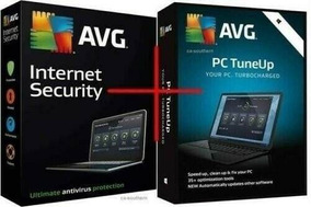 Avg Internet Security+avg Tuneup 2019 Ate 2021 Para 10 Pcs