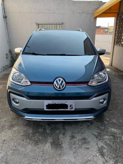 Volkswagen Cross Up Tsi Azul Cross Up 2018