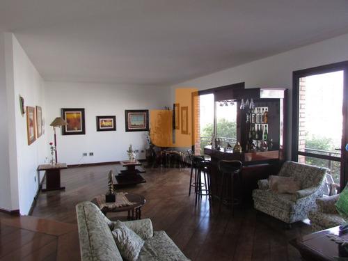 Excelente Apartamento, Com Vista Total Para O Vale Do Pacaembu - Pe6175