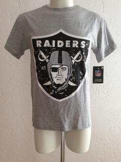 Playera T Shirt Oakland Raiders Nfl Team Apparel 2017