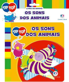 Os Sons Dos Animais - Livro De Banho - Col. Tip Top