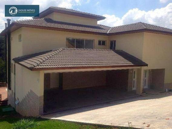 Casa Com 4 Dormitórios À Venda, 636 M² Por R$ 1.700.000,00 - Condomínio Serra Dos Cristais - Cajamar/sp - Ca2577