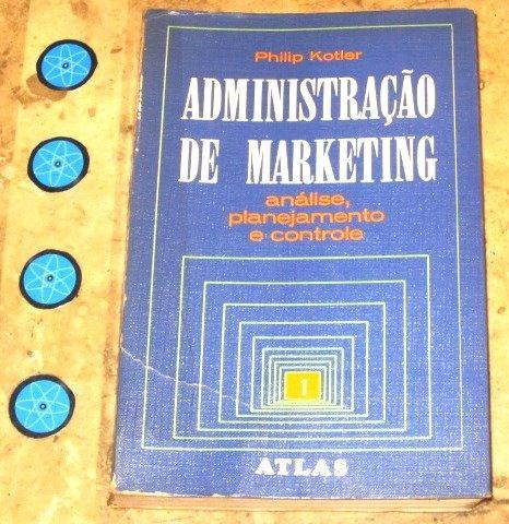 Livro Administração Marketing 1- Philip Kotler (1976)