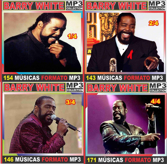 Barry White Discografia Completa 55 Cd