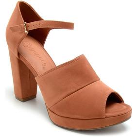 87422a15e7 Sandalias Bebece Meia Pata Marrom - Sapatos no Mercado Livre Brasil