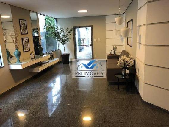 Apartamento À Venda, 147 M² Por R$ 740.000,00 - Pompéia - Santos/sp - Ap0280