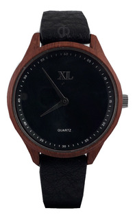 Reloj Xl Extra Large Dama Xl798/799 Malla Cuero Blanco Azul