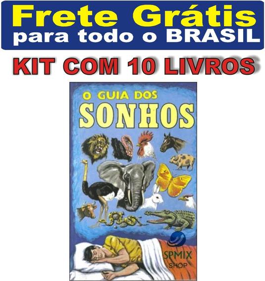 Kit Com 10 Livro O Guia Dos Sonhos Loto Jogo Do Bicho