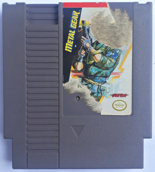 Jogo Metal Gear Nintendo Nes 8 Bits Original Frete Grátis