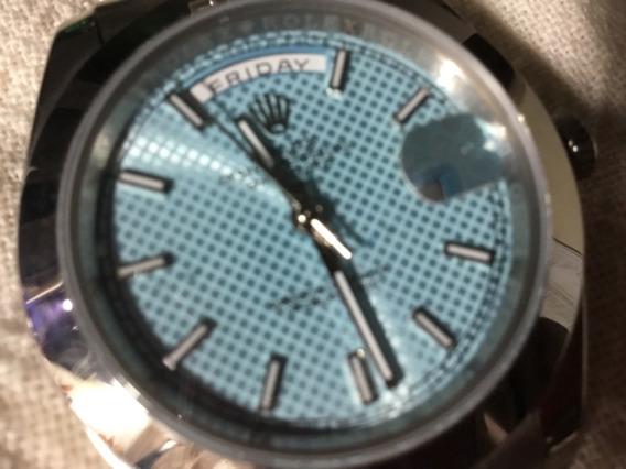 Relógio Rolex, Automático, Fundo Azul