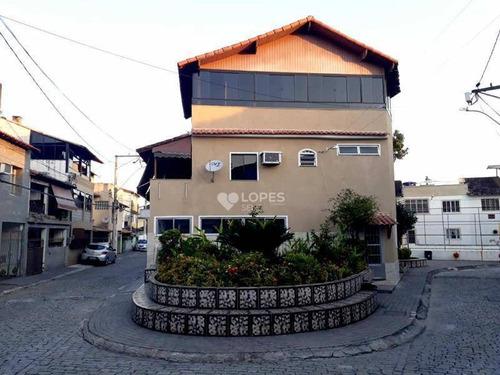 Imagem 1 de 12 de Casa Com 3 Quartos, 180 M² Por R$ 375.000,00 - Centro- São Gonçalo/rj - Ca12175