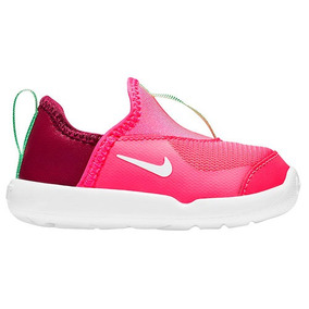 Tenis Deportivo Nike Swoosh Niñas Textil Fucsia 01988 Dtt