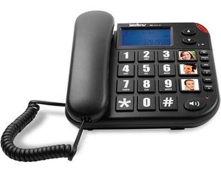 Telefone Identificador Chamadas Tok Facil Id Intelbras