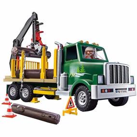 Brinquedo Playmobil Country Caminhão De Madeira 9115