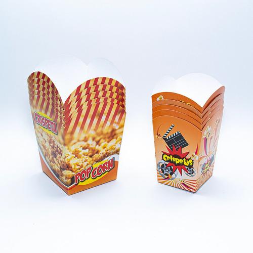 Empaque Para Crispetas Grande Impresa - Unidad a $1