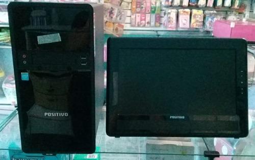 Computador Completo (cpu, Monitor, Teclado E Mouse)