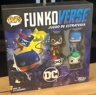 Juego De Estrategia Funkoverse Pop! Games Dc Batman Joker