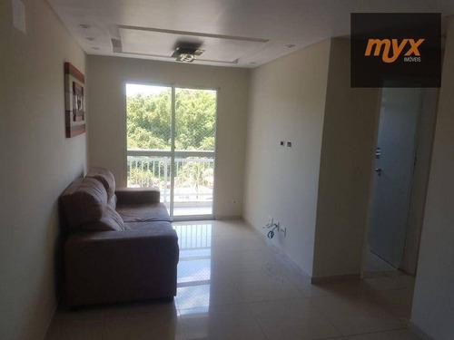 Imagem 1 de 19 de Apartamento Com 2 Dormitórios À Venda, 55 M² Por R$ 243.800 - Morro De Nova Cintra - Santos/sp - Ap6147