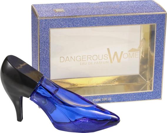 Perfume Dangerous Women Linn Young 90 Ml - Selo Adipec