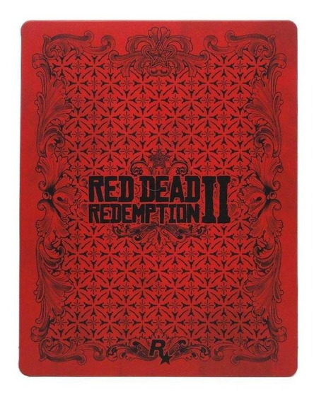 Red Dead Redemption 2 Steelcase Ps4 Mídia Física