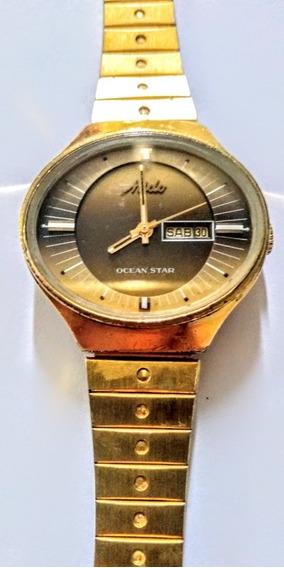 Mido Automático Antigo Relógio Suíço Feminino Automático.