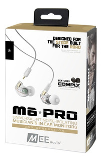 Auriculares Mee Audio M6 Pro G2 In Ear Clear - Fac A/b
