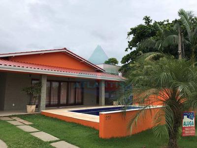 Casa Com 5 Dorms, Condomínio Lagoinha, Ubatuba - R$ 2.2 Mi, Cod: 91 - V91