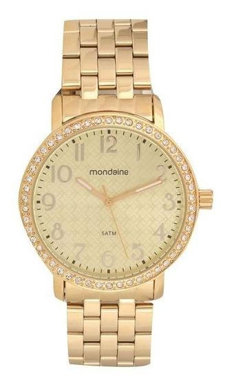 Relógio Feminino Mondaine 99011lpmvde1 Dourado