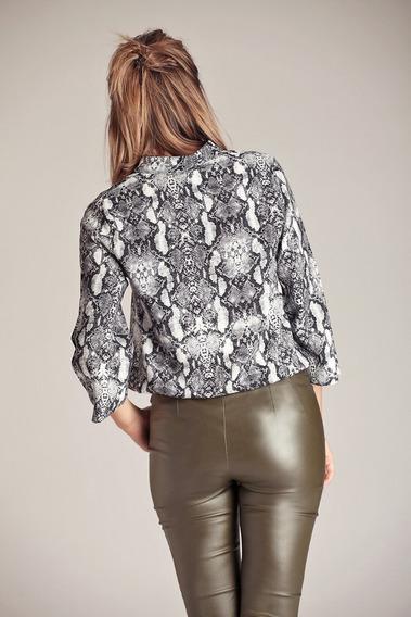 Camisa Dana-estampa Reptil-brandel