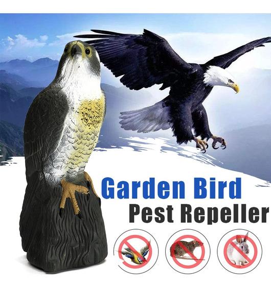 Jardín Espantador De Plagas De Aves Repelente Falso Halcón C