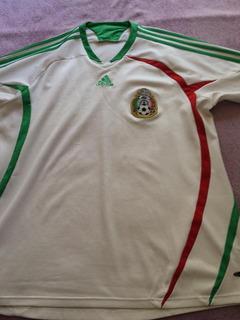 Camisa Do México - Tam Gg - Orig. adidas - Manga 3/4. Ótima