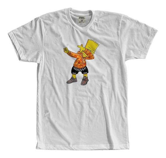 Camiseta Feminina Tumblr Camisa Masculina T Shirt Bart Swag Simpson Trap Hip Hop Rip Hop 1 Kilo Hungria Xxx Tentacion