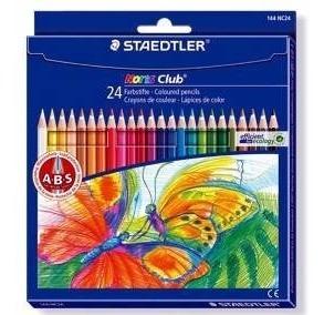 Colores Dibujo Lápices Staedtler Tipo Prismacolor Arte 24pz