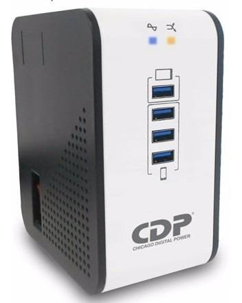 Regulador Voltaje Cdp 1000va/400w, 8 Salidas-r2cu-avr1008