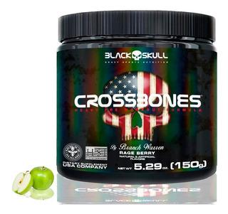 Pre Treino - Cross Bones 30 Doses 150g - Black Skull