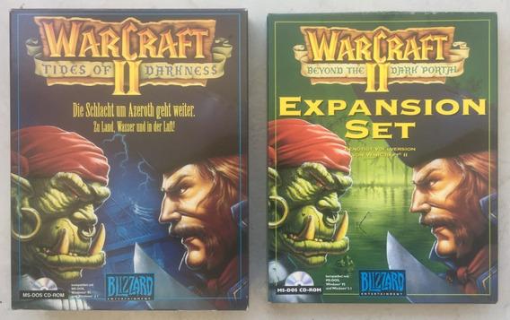 Warcraft 2 Tides + Expansion Beyond Big Box Blizzard ( Novo)