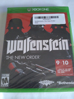 Wolfenstein The New Order Xbox One Nuevo Sellado