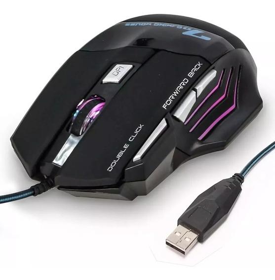 Mouse Gamer Weibo X7 3600dpi Ergonomic