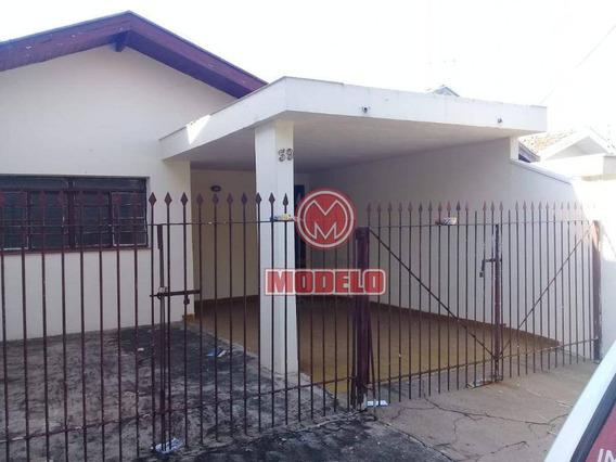 Casa Com 2 Dormitórios Para Alugar, 100 M² Por R$ 950/mês - Vila Rezende - Piracicaba/sp - Ca0124