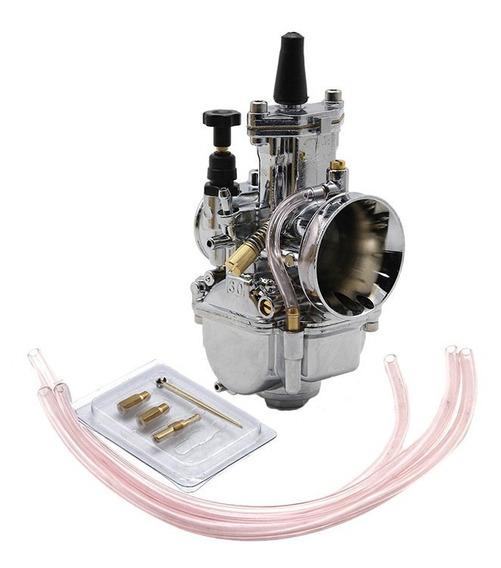 Carburador Competição Cromado 28 30 32 34 Mm Zsd Koso Keihin