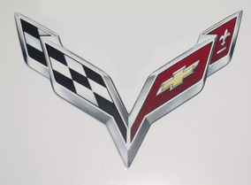 Adesivo Corvette C/ 5 Unidades 7x10cm Recorte Digital
