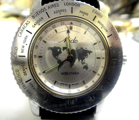 Relógio Mido World Timer