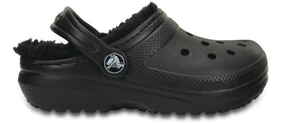 Crocs Classic Lined Clog K Black/black