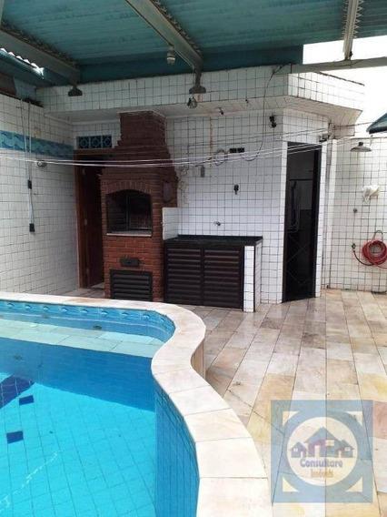 Casa Com 3 Dormitórios À Venda, 132 M² Por R$ 950.000,00 - Marapé - Santos/sp - Ca0862
